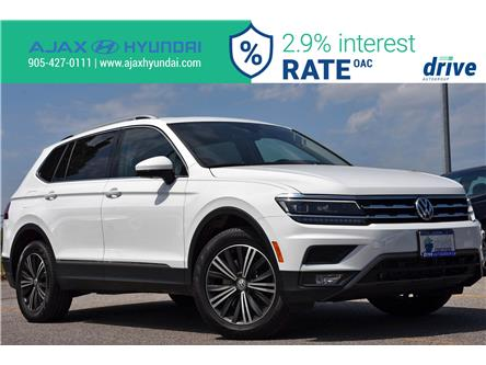 2018 Volkswagen Tiguan Highline (Stk: P4765L) in Ajax - Image 1 of 32