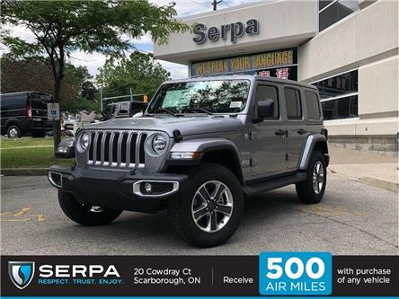 2019 Jeep Wrangler Unlimited 28G (Stk: 194135) in Toronto - Image 1 of 17