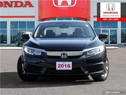 2016 Honda Civic LX (Stk: 20072A) in Cambridge - Image 2 of 27