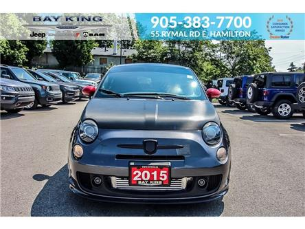 2015 Fiat 500 Abarth (Stk: 197302A) in Hamilton - Image 2 of 18