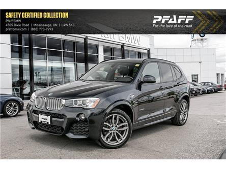2017 BMW X3 xDrive28i (Stk: U5638) in Mississauga - Image 1 of 22