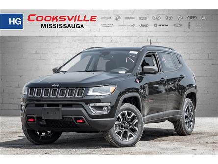 2019 Jeep Compass Trailhawk (Stk: KT825807) in Mississauga - Image 1 of 16