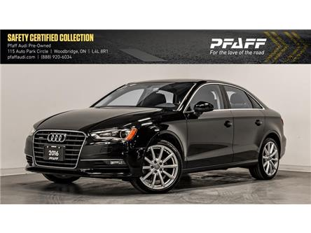 2016 Audi A3 2.0T Komfort (Stk: C7023) in Woodbridge - Image 1 of 22