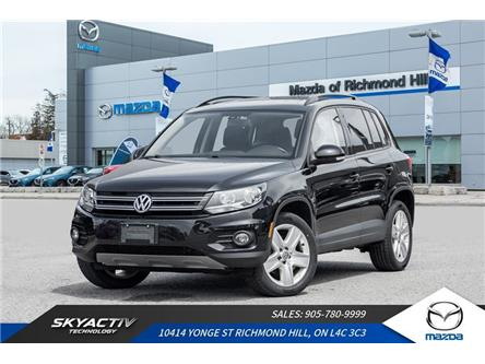 2016 Volkswagen Tiguan Comfortline (Stk: 19-407A) in Richmond Hill - Image 1 of 19
