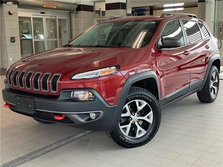 2015 Jeep Cherokee Trailhawk (Stk: 20802A) in Kingston - Image 1 of 30