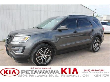 2017 Ford Explorer Sport (Stk: 19063-1) in Petawawa - Image 1 of 24