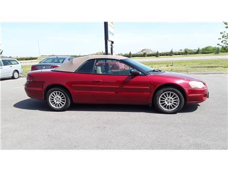 2004 Chrysler Sebring Touring (Stk: P541) in Brandon - Image 2 of 11