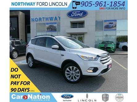 2019 Ford Escape SEL | AWD | NAV | PWR HTD LEATHER | PANOROOF | (Stk: EC94260A) in Brantford - Image 1 of 44