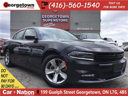 2016 Dodge Charger SXT | PUSH START|POWER GRP|HTD SEATS|BLUTOOTH (Stk: P12326) in Georgetown - Image 1 of 27