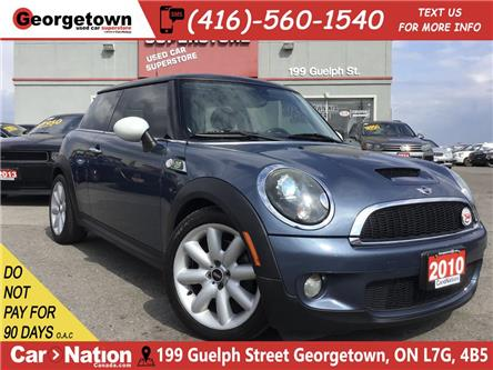 2010 MINI Cooper S 50 Camden|AUTO|CLEAN CARFAX|PANO ROOF|HK SOUND (Stk: P12436) in Georgetown - Image 1 of 25