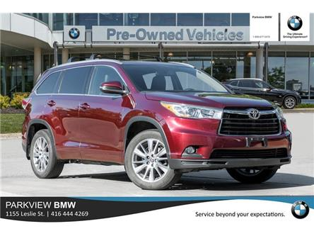 2016 Toyota Highlander XLE (Stk: PP8506A) in Toronto - Image 1 of 20