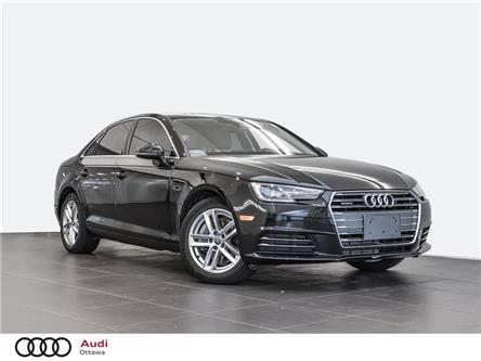 2017 Audi A4 2.0T Komfort (Stk: 52654A) in Ottawa - Image 1 of 18