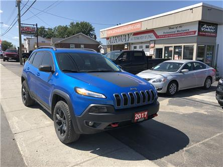 2017 Jeep Cherokee Trailhawk (Stk: 1916) in Garson - Image 1 of 13