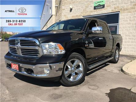 2017 RAM 1500 BIGHORN CREWCAB 4X4, NAVI, PARKING SENSORS, ALLOY  (Stk: 8748) in Brampton - Image 1 of 25