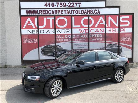 2016 Audi A4 2.0T Progressiv plus (Stk: 008724) in Toronto - Image 1 of 14