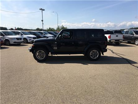 2020 Jeep Wrangler Unlimited Sahara (Stk: 20WR3765) in Devon - Image 1 of 15