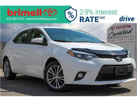 2014 Toyota Corolla LE (Stk: 207337A) in Scarborough - Image 1 of 4