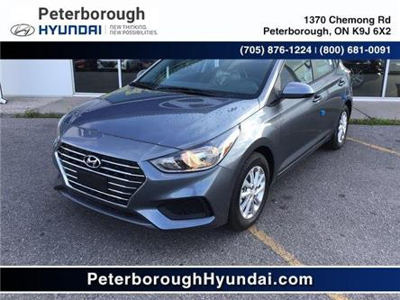 2020 Hyundai Accent Preferred (Stk: H12247) in Peterborough - Image 1 of 17