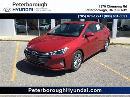 2020 Hyundai Elantra Preferred w/Sun & Safety Package (Stk: H12254) in Peterborough - Image 1 of 12