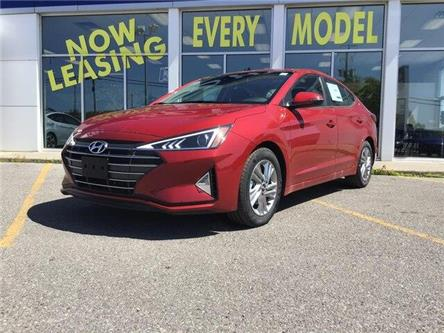 2020 Hyundai Elantra Preferred w/Sun & Safety Package (Stk: H12254) in Peterborough - Image 2 of 12