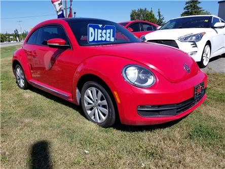 2014 Volkswagen Beetle 2.0 TDI Highline (Stk: ) in Kemptville - Image 1 of 14