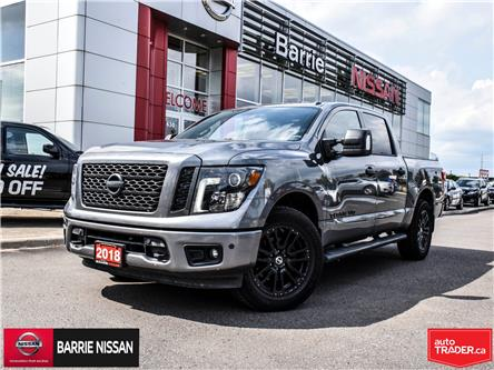 2018 Nissan Titan SV Midnight Edition (Stk: P4609) in Barrie - Image 1 of 23