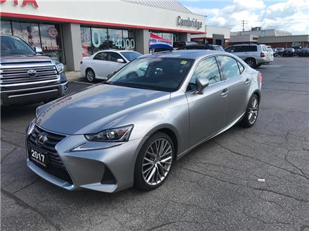 2017 Lexus IS 300 Base (Stk: P0054330) in Cambridge - Image 2 of 15