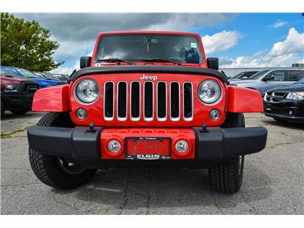 2016 Jeep Wrangler Unlimited Sahara (Stk: 58869) in St. Thomas - Image 2 of 30
