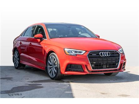 2018 Audi A3 2.0T Technik (Stk: N4519) in Calgary - Image 1 of 16