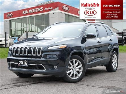 2016 Jeep Cherokee Limited (Stk: K2957) in Mississauga - Image 1 of 28