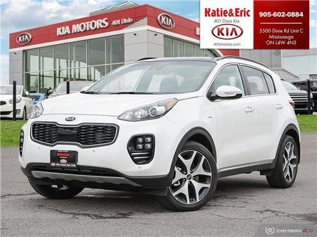 2018 Kia Sportage SX Turbo (Stk: K3136) in Mississauga - Image 1 of 28