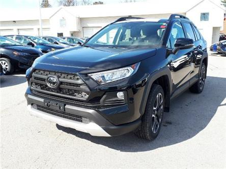 2019 Toyota RAV4 Trail (Stk: TV106) in Cobourg - Image 1 of 7