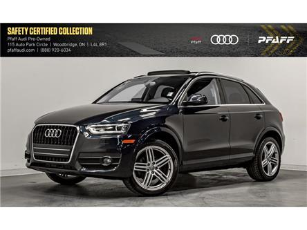 2015 Audi Q3 2.0T Progressiv (Stk: C7042) in Woodbridge - Image 1 of 22
