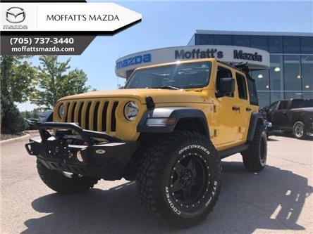 2019 Jeep Wrangler Unlimited Sport (Stk: P7335A) in Barrie - Image 1 of 30