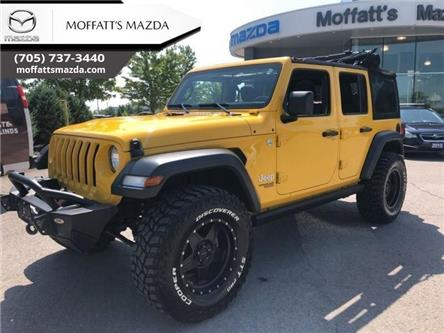 2019 Jeep Wrangler Unlimited Sport (Stk: P7335A) in Barrie - Image 2 of 30