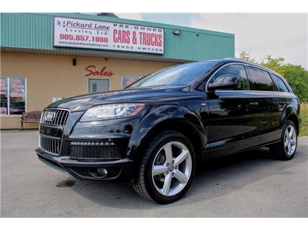 2014 Audi Q7 TDI Progressiv (Stk: 019474) in Bolton - Image 1 of 27