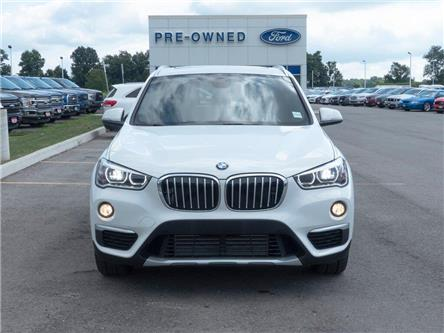 2018 BMW X1 xDrive28i | AWD | LEATHER | PANOROOF | PUSH START (Stk: DR349) in Brantford - Image 2 of 44