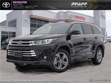 2019 Toyota Highlander Limited AWD (Stk: H19625) in Orangeville - Image 1 of 24