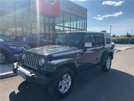 2017 Jeep Wrangler Unlimited Sahara (Stk: T19247A) in Kamloops - Image 1 of 30