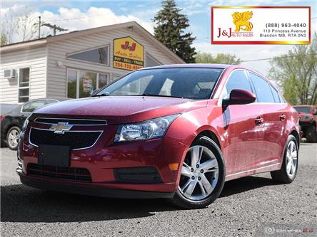 2014 Chevrolet Cruze DIESEL (Stk: J19043) in Brandon - Image 1 of 27