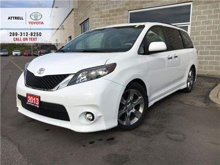 2013 Toyota Sienna SE 8 PASS, NAVIGATION, DVD, ALLOYS, FOG, POWER DOO (Stk: 43593C) in Brampton - Image 1 of 25