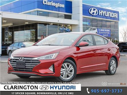 2020 Hyundai Elantra Preferred w/Sun & Safety Package (Stk: 19483) in Clarington - Image 1 of 24
