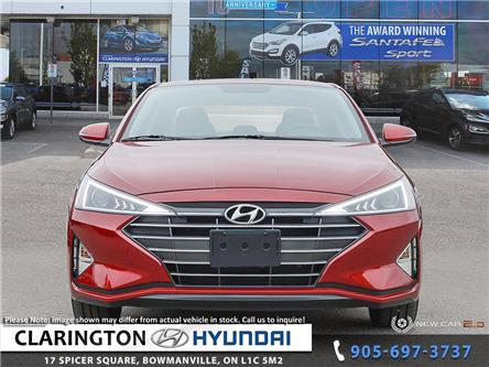 2020 Hyundai Elantra Preferred w/Sun & Safety Package (Stk: 19483) in Clarington - Image 2 of 24