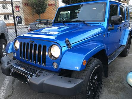 2015 Jeep Wrangler Unlimited Sahara (Stk: OP19300) in Vancouver - Image 1 of 17