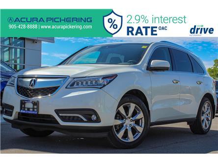 2016 Acura MDX Elite Package (Stk: AP4938) in Pickering - Image 1 of 35