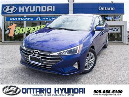 2020 Hyundai Elantra Luxury (Stk: 952038) in Whitby - Image 1 of 19