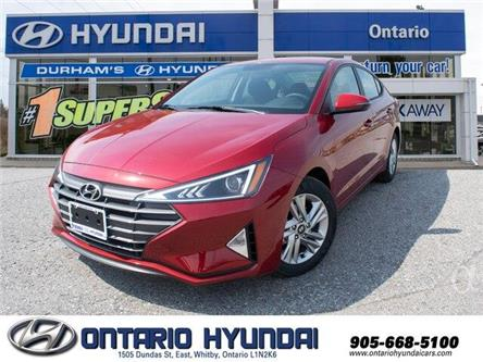 2020 Hyundai Elantra Preferred w/Sun & Safety Package (Stk: 952483) in Whitby - Image 1 of 17