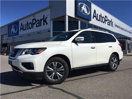2019 Nissan Pathfinder SV Tech (Stk: 19-85755RJB) in Barrie - Image 1 of 28