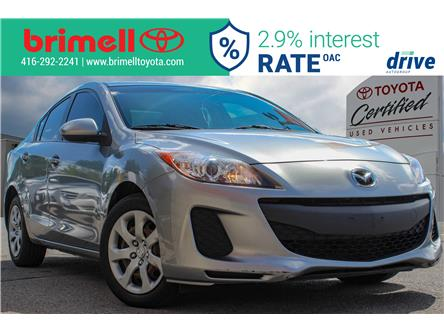 2013 Mazda Mazda3 GX (Stk: 196994C) in Scarborough - Image 1 of 20