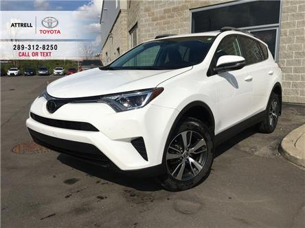 2018 Toyota RAV4 LE FWD ALLOYS, PEDESTRIAN DETECTION, LDA, HEATED S (Stk: 45258A) in Brampton - Image 1 of 24